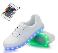 Cheap Shihua Ri Remote Control LED Shoes Sneakers Usb Charging Light Shoes Sneakers Christmas