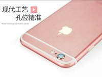 Wholesale Apple iphone6 plus rose gold foil stickers turned s s plus phone color film back film changed color