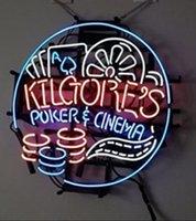 air poker - Super Bright Kilgore s Poker Cinema Glass Handcrafted Neon Sign Handcrafted Store Display Nikke Air Jorrdan Neon Sign x24