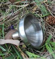 Wholesale 7mm Funnel For Most Hip Flasks Flask Wine Pot Wide Mouth Stainless Steel High Quality