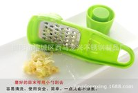 Wholesale Mini Garlic Grinder Stainless Steel ABS Grater for Ginger and Garlic Handy Multi functional Kitchen Supplies For Housewives
