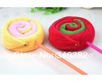 Wholesale Wedding supplies lollipop baby towel small gift