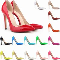 Cheap Women Shoes Pointed Toe Pumps High Heels Women Pumps Heels Party Shoes Woman Red Bottom Shoes High Heel Wedding Shoes Pumps 35-42
