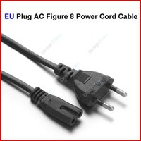 Wholesale EU Plug AC Figure Power Cord Cable m FT For Battery Charger AC Power Adapter Laptop