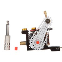 automatic wire cutting - Automatic Tattoo Machine Liner Shader A4 Iron Wire cutting Tattoo Machine New Quality