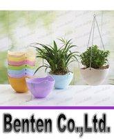 beautiful hanging baskets - hot pots pp balcony spider hanging plastic resin thickened Diaopen beautiful home gardening pots containing chain hooks