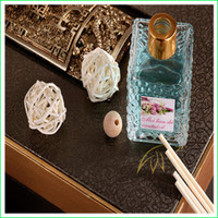 Wholesale 2015 best seller Home air freshener and decoration Aroma Reed Diffuser Fragrance oil reed diffuser with rattan to spring air in stock DHL