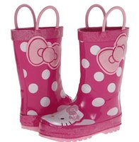 Rain Boots Women Summer New original single Frozen rainboots kt cartoon girls cute rubber rain boots free shiipping in stock