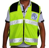 Wholesale Solar Power Product Solar Reflective Vest safety vest with solar Panels Recharger for mobile phone Ipad etc S05A