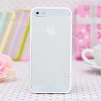 Wholesale IPhone5 acrylic matte S Apple phone shell mobile phone protective shell protective sleeve IPhone6