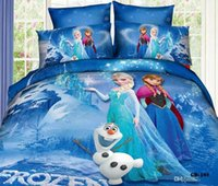 Wholesale Crazy Selling SET Craze Frozen Bedding Set Linen with Organic Cotton