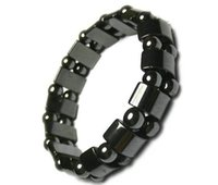 Cheap Free by Express 2015 Brand New Fashion Radiation protection Health Black stone Tourmaline unisex bracelet good gift to friends