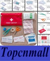 Wholesale NEW Sets First Aid Kit For Outdoor Travel Sports Emergency Survival Indoor Or Car Treatment Pack Bag