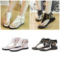 ladies shoes size - New Fashion Women s Platform Sandals Brand New Korean Style Ladies Summer Sandals Flat Heel Shoes Size EUZ