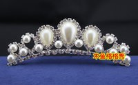 Hair Combs Rhinestone/Crystal  2015 Cheap Tuck Comb Bridal Hair Accessories Crystal Pearls Sparkle Wedding Hair Accessory In Stock Fashion Women Accessories For Party ZX