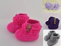 Unisex Spring / Autumn Cotton Wholesale kintted toddler shoes,Crochet snow boots shoes,cotton yarn baby shoes,tassel girls floor shoes,winter walker shoes!10pairs 20pcs