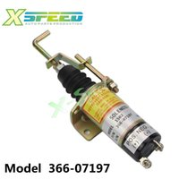 Wholesale Fuel Shut Off Solenoid valve V Fuel Shutdown Shut Off Solenold Lister Petter LPW LPWS LPWT Engine Genset