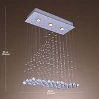 beaded ceiling light - Plafon LED Ceiling Light with Lights and Crystal Beaded Lustres De Sala Teto