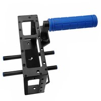 Wholesale DSLR camera Cage with top handle for d3 D2 d with mm rod block rig