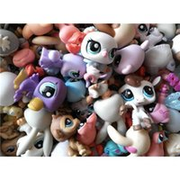 Wholesale 20 pieces set Littlest Pet Shop original action figures lps toys gift for girls loose little pet shop