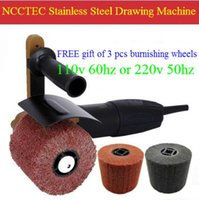 Wholesale stainless steel grinder Drawing Machine electric portable hand held mirror polisher polishing machine v hz or v hz
