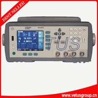 Wholesale china LCR Meter AT2816B Frequency Hz kHz high performance processors and quot TFT LCD screen smart LCR Meter