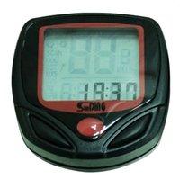 Wholesale 2pcs Multifunction LCD Digital Vogue Bicycle Computer Odometer Speedometer Velometer