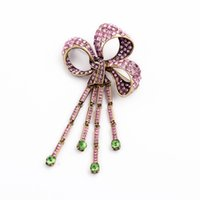 Wholesale wedding brooches rhinestone brooch bouquet dress brooch scarf brooches free drop shipping