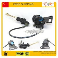Wholesale 50cc cc cc cc cc Hydraulic Rear Brake Assembly DIRT PIT BIKE Master Cylinder Caliper hose mm long order lt no t