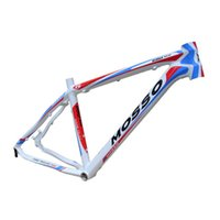 Wholesale Classic Mountain Bike Frame Vintage Design Multi Color Tour Bikes Frame Glossy Aluminum Bicycles Frame XC2