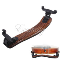 Wholesale Brand New Maple Wood Violin Viola Shoulder Rest Pad Support Holder Adjustable Size