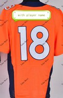 manning jersey - 2015 New Arrivals Top Quality manning orange jersey american football jersey stitched logo authentic accept mix order