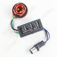 Wholesale 1157 Socket LED Bulb Flickering Error Code Cancellers LED Turn Signal Light Wiring Resistor Decoder BAY15D V