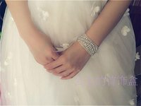 Wholesale The bride wrist flowers Korean wedding jewelry simulation diamond wrist band