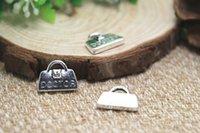 antique doctor bag - 12pcs Antique Tibetan Silver Doctor bag Charms Pendants DIY Supplies Jewelry Making x15mm