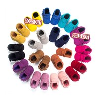 Wholesale Matte Handmade Tassels Soft Bottom Toddler Shoes Baby Shoes New Baby Prewalker Baby Mocasins