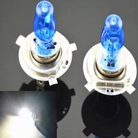 Wholesale 2pcs H4 H1 H3 H7 H11 W W V HOD Xenon White k Halogen Car Head Light Globes Bulbs Lamp H4 H7 HOD Xenon Light