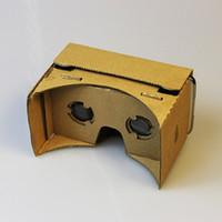 Wholesale DIY Google Cardboard Cellphone VR D Glasses