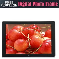 Wholesale inch Multi functional Digital Photo Frame With MP3 MP4 Player Remote Control