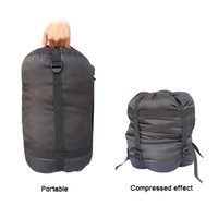 Wholesale BlueField Lightweight Compression Stuff Sack Bag Outdoor Camping Compression Sleeping Bag Small