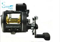 Wholesale Line Counter Trolling Fishing Reels Multiplier Reels bearings g baitcasting fishing reel