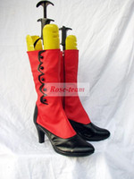 angelina butler - Anime Sexy Fancy Dress Halloween Christmas Carnival Black Butler Madam Red Angelina Dulles Cosplay Boots Shoes