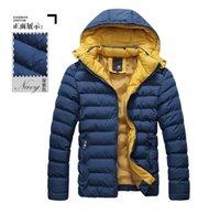 Wholesale 2014 Men casual Dark Blue winter Cotton coats men cardigan sweaters men s hoodies Men S cardigan sweater men s winter coat