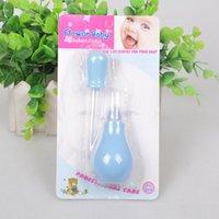 Wholesale Baby newborn nasal aspirator medicine feeder pinpet drencher baby feeding medicine dropper colors good quality G237