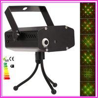 Gros-Disco Bar KTV Party étape projecteur laser Effet 110V-240V La commande vocale / Auto / Strobe 3-Mode Lumière d'affaires avec trépied Adaptateur