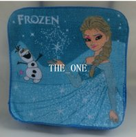 Wholesale Baby Accessories Cartoon Face Towel kids cartoon frozen elsa olaf frozen wash cloth cotton bath towel for children frozen face cloth