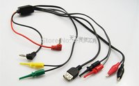 Wholesale Mobile phone repair DC Adjustable power supply output line multi purpose interface with USB Power Cable