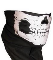 Wholesale 2015 Fashion Motocross motorcbike bicycle face mask skeleton masks Variety personalized scarves Skull Multi Bandana Bike Motorcycle Scarf