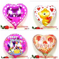 Foil Balloon arch balloons for parties - Latest Heart Round Balloon Birthday Party Supplies Inflatable Foil Air Ballloon Wedding Arch For Decoration Kids Toy Love Heart Shape Bola