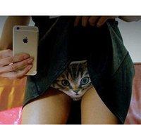 Cheap 2015 Hot Sale Panties Cute 3D Cat Women Underwear Panty Sexy Briefs Seamless Control Pants Pussycat Panties